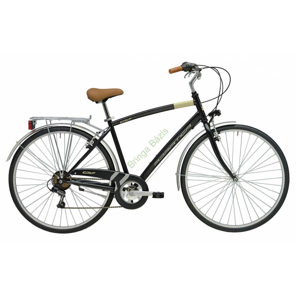 Adriatica Trend férficity trekking kerékpár, 6seb - fekete