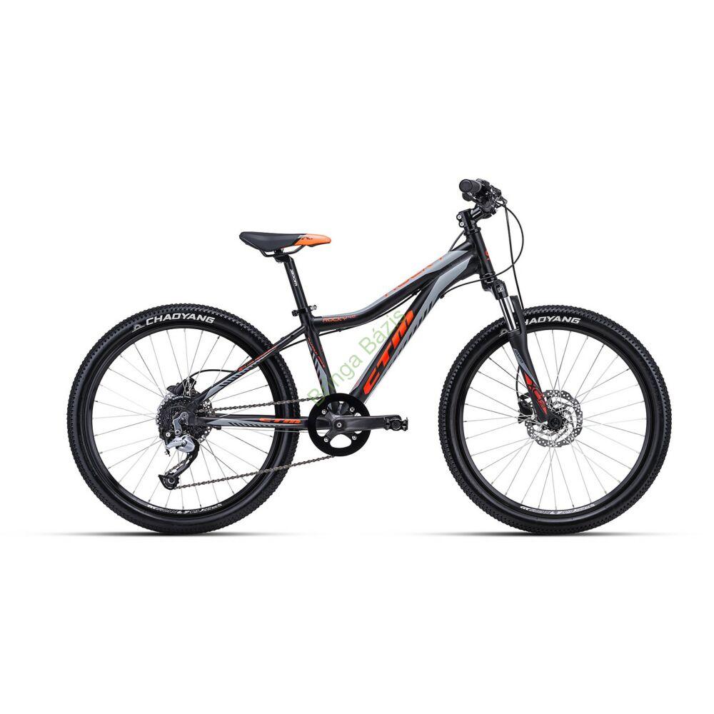 CTM ROCKY 4.0 24 gyerek kerékpár (narancs)