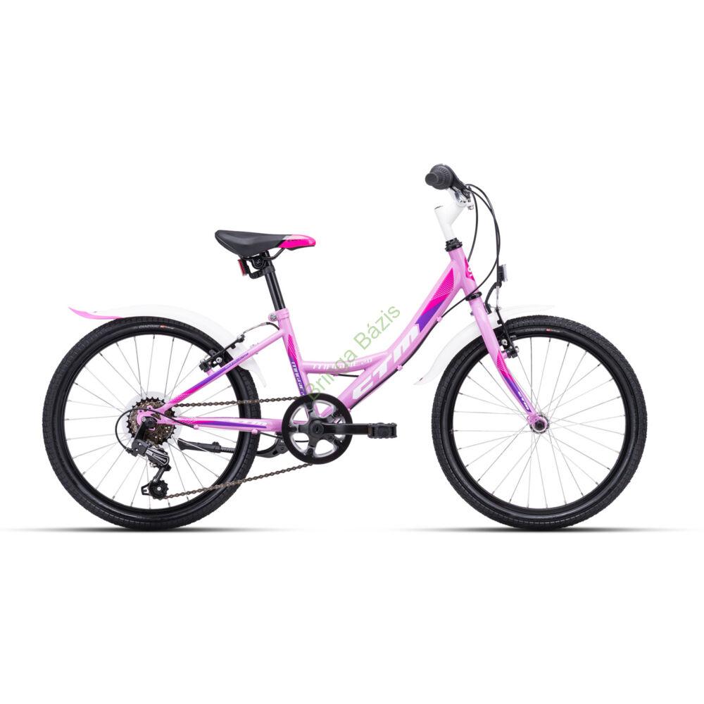 CTM Maggie 2.0 gyerek kerékpár 20'', lila