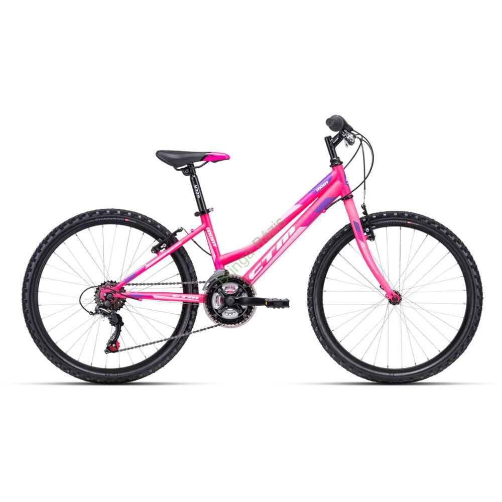 CTM MONY 24 gyerek kerékpár (pink)