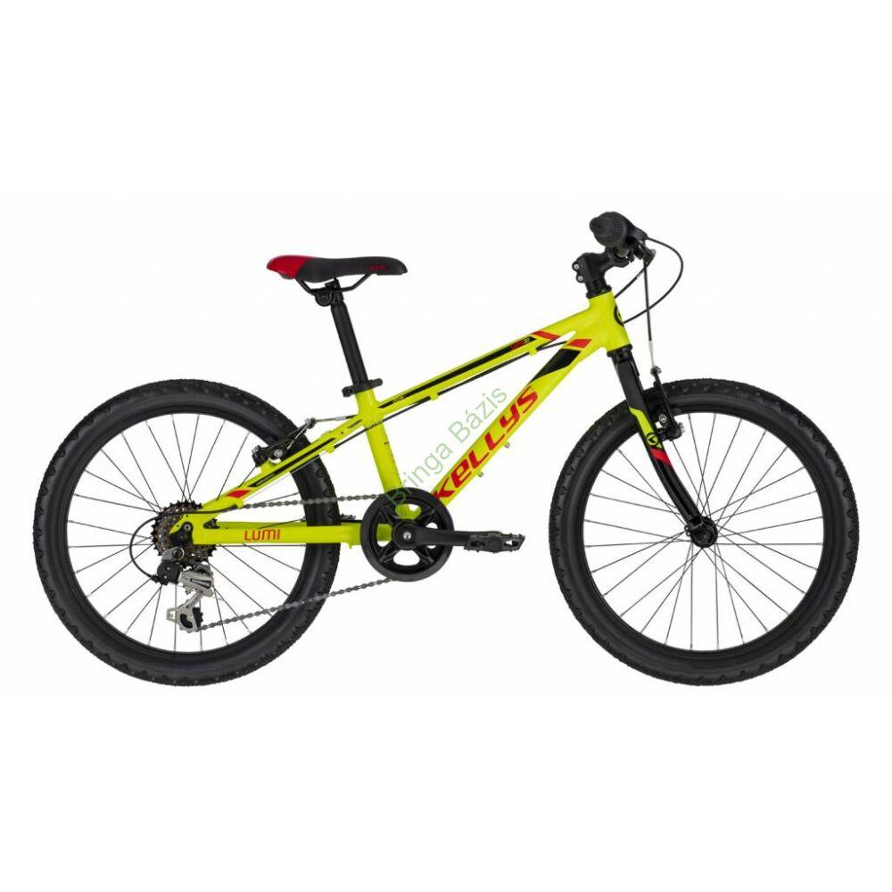 Kellys Lumi 30 gyerek kerékpár 20'', neon sárga