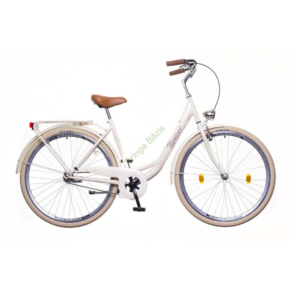 Neuzer Balaton Premium női city kerékpár - krém