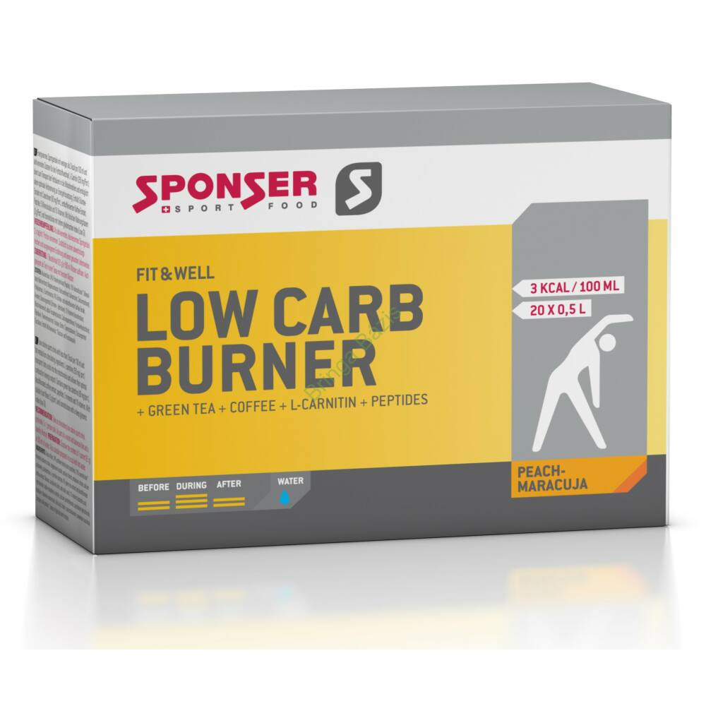 Sponser Low carb burner zsírégető