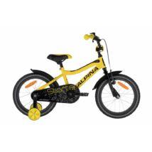 Alpina Starter gyerek kerékpár 16'', sárga