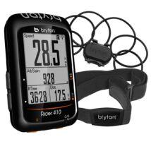 Bryton Rider 410 GPS computer szett, pedál- és pulzusmérővel