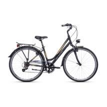 CTM FLORENCE női trekking kerékpár, fekete