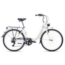 CTM OLIVIA 2.0 city kerékpár 26'', krém