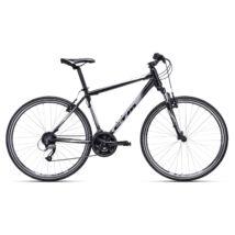 CTM TRANZ 1.0 cross kerékpár, fekete