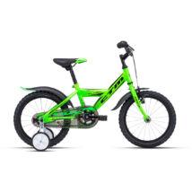 CTM FLASH gyerek kerékpár 16'', zöld