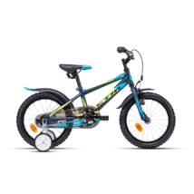 CTM TOMMY gyerek kerékpár 16'', kék