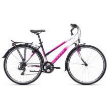 CTM TARGA női trekking kerékpár, lila