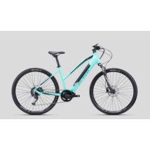 CTM SENZE Lady cross e-bike, közép agymotoros, 9p, türkiz