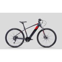 CTM SENZE Man cross e-bike, közép agymotoros, 9p, szürke