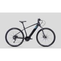 CTM SENZE Man cross e-bike, közép agymotoros, 9p, fekete