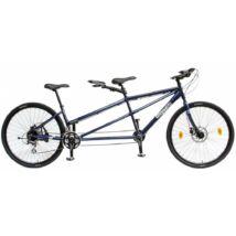 Csepel Tandem 100 kerékpár, kék
