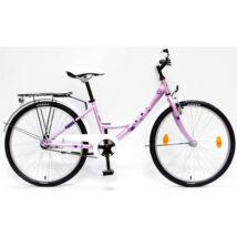 Csepel Hawaii gyerek kerékpár 24'', Rózsaszín