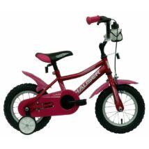 Hauser Puma gyerek kerékpár 12'', sötét pink