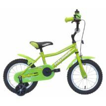 Hauser Puma gyerek kerékpár 14'', zöld
