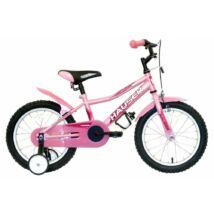 Hauser Puma gyerek kerékpár 16'', világos pink