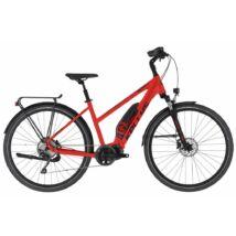 Kellys E-Cristy 50 női trekking e-bike, piros