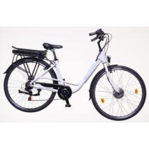 Neuzer Zagon női E-trekking kerékpár, fehér