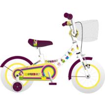 Neuzer Cupcake gyerek kerékpár 12'', Fehér-Lila