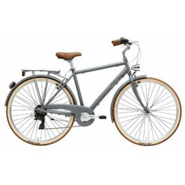 Adriatica Retro férfi city kerékpár, 6seb - szürke