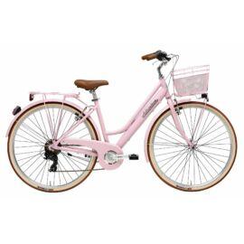 Adriatica Retro női city kerékpár, 6seb - rózsaszín