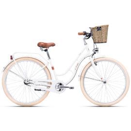 CTM FIORE agyváltós city kerékpár, fehér