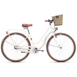CTM SUMMER agyváltós city kerékpár, krém