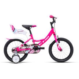 CTM JENNY 16 gyerek kerékpár (pink)