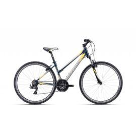 CTM MAXIMA 1.0 női cross kerékpár, sárga