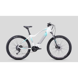CTM Ruby női MTB e-bike, középmotor, 9sp, fehér