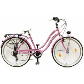 Csepel Cruiser Neo női city kerékpár, 7seb, rózsaszín