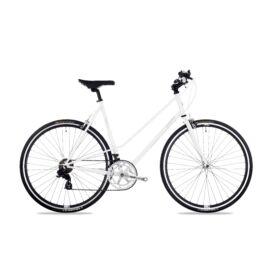 Csepel Torpedo 3* Lady fitness kerékpár, fehér