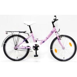 Csepel Hawaii gyerek kerékpár 20'', rózsaszín