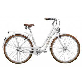 Gepida Classic city kerékpár, agyváltós, fehér