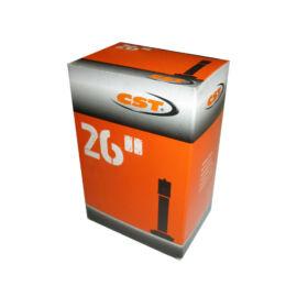 CST 26x1.25-1.50 AV belső gumi, autó szelep