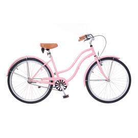 Neuzer Beach női cruiser kerékpár - rózsa