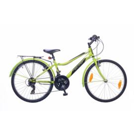 Neuzer Bobby City gyerekkerékpár 24'', 18seb, zöld