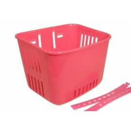 Műanyag gyerek kosár (Pink)