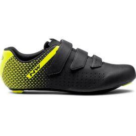 Northwave Core 2 kerékpáros országúti cipő - fekete-fluo