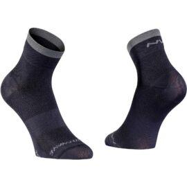 Northwave Classic zokni, fekete-szürke
