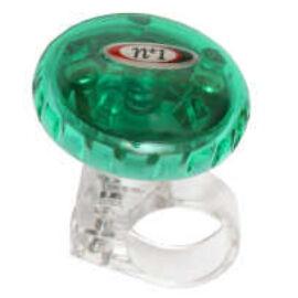 Spyral Forgófejes csengő, zöld