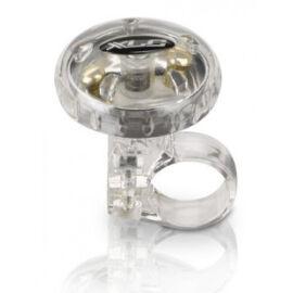 XLC Forgófejes csengő, átlátszó