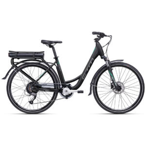CTM E-TERRA city e-bike 26'', fekete