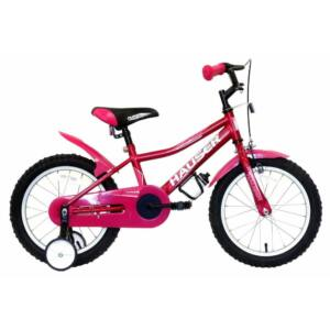 Hauser Puma gyerek kerékpár 16'', sötétpink