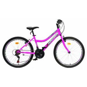 Hauser Wolf gyerekkerékpár 24'', pink