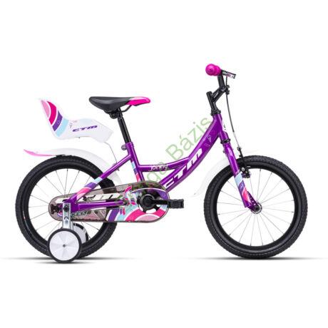 CTM JENNY 16 gyerek kerékpár (lila)