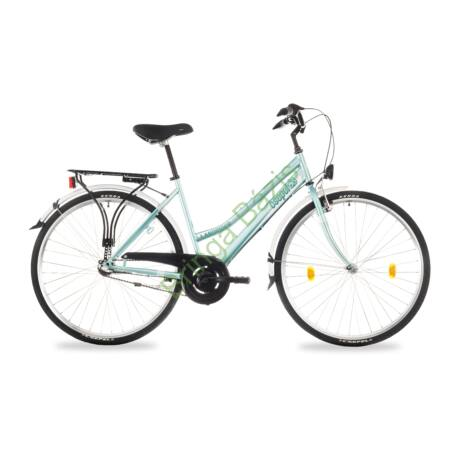 Csepel Landrider női trekking kerékpár (agyváltós) - zöld